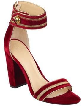 GUESS Women's Cersian Velvet Heels