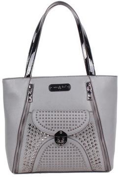 Women's Nicole Lee Sanne Flip-Lock Shopper Bag