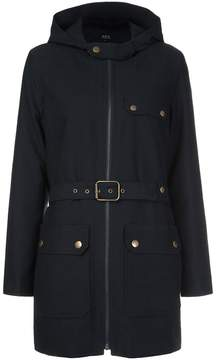 A.P.C. belted coat