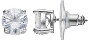 Dana Buchman Cubic Zirconia Round Stud Earrings
