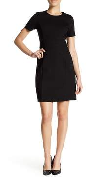 Atelier Luxe Short Sleeve Ponte Dress (Petite)
