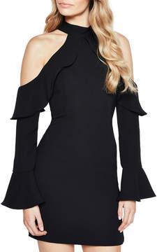 Bardot Nightshade Cold-Shoulder Cocktail Dress