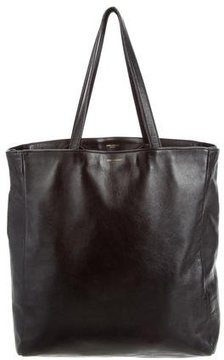 Saint Laurent Soft Calfskin Museum Tote - BLACK - STYLE