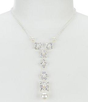Cezanne Faux-Pearl Y-Necklace