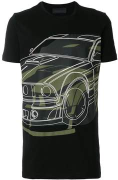 Diesel Black Gold car print T-shirt