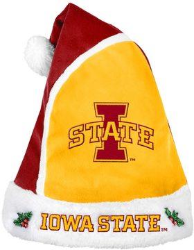 NCAA Adult Iowa State Cyclones Santa Hat