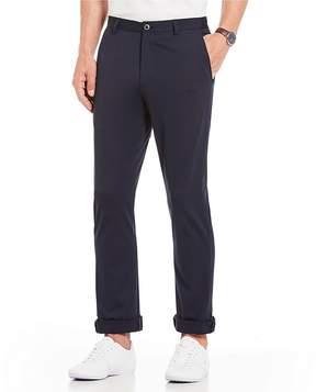 Murano Alex Flat-Front Pique Stretch Pants
