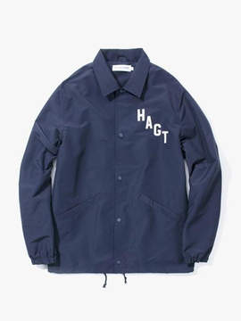 Have A Good Time Arch Logo Coach Jacket - Navy
