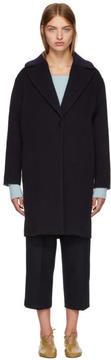 Cédric Charlier Black Wool Coat