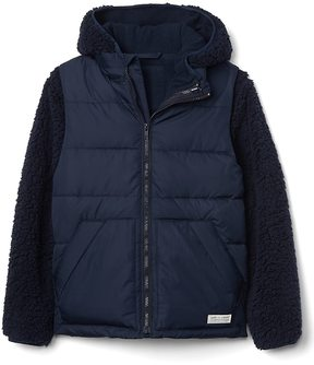 Gap Cozy 3-in-1 puffer jacket