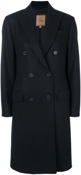 Fay tailored button-up coat