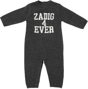 Zadig & Voltaire Knitted Cashmere Romper