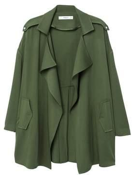 MANGO Flowy lapelled jacket