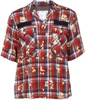 Sacai Paint Splatter Shirt