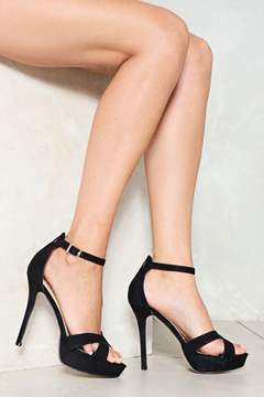 Nasty Gal nastygal On Top Platform Heel