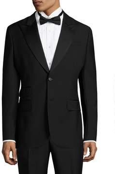 BLK DNM Men's 9 Wool Flap Tuxedo Jacket
