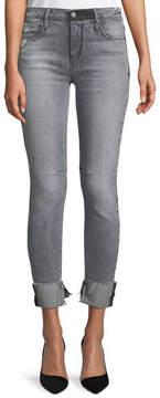 RtA Nova Mid-Rise Skinny-Leg Jeans