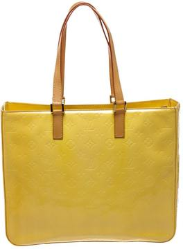 Louis Vuitton Tote W patent leather tote - YELLOW - STYLE