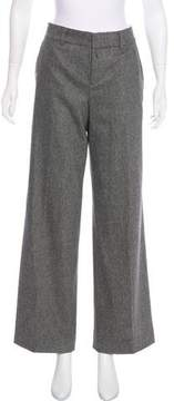 Strenesse Mid-Rise Wool Pants