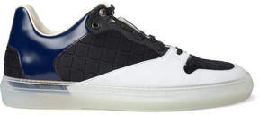Balenciaga Panelled Leather Sneakers