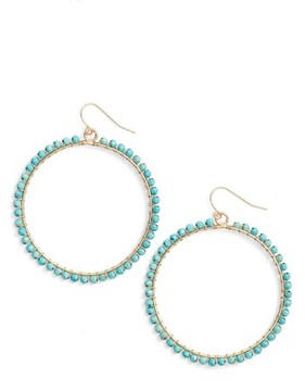 Ettika Women's Wrapped Hoop Earrings