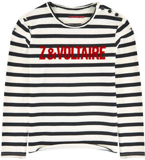 Zadig & Voltaire Striped cotton top