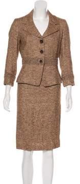 Tahari Tweed Skirt Suit