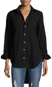 Frank And Eileen Grayson Button-Front Long-Sleeve Cotton Shirt