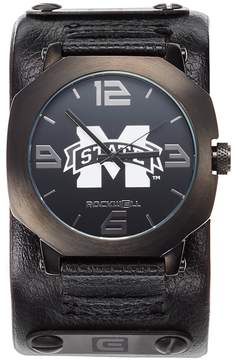Rockwell Kohl's Mississippi State Bulldogs Assassin Leather Watch - Men