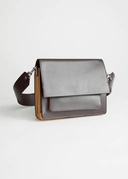 And other stories Short Leather Crossbody Bag