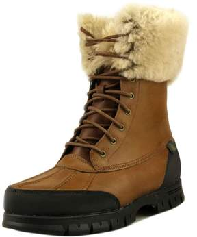 Lauren Ralph Lauren Quinta Women US 8 Brown Winter Boot