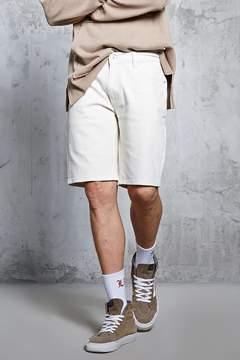 21men 21 MEN Clean-Wash Denim Shorts