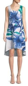 Context Floral Hi-Lo Dress