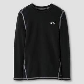 Champion Boys' Power Core® Brushed Compression Long Sleeve Crew