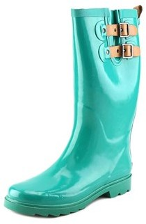 Chooka Top Solid Round Toe Synthetic Rain Boot.