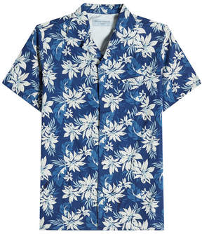 Officine Generale Printed Cotton Shirt