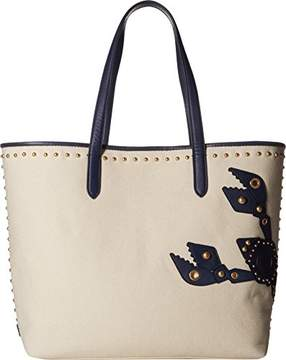 Cole Haan Payson Canvas Lobster Pinch Tote