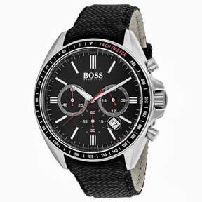 HUGO BOSS Classic 1513087 Men's Nylon and Stainless Steel Chronograph Watch