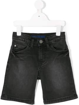 Zadig & Voltaire Kids faded denim shorts