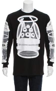 Hood by Air X-Ray Print Graphic T-Shirt