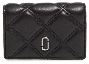 Marc Jacobs Women's Quilted French Wallet - Black - BLACK - STYLE