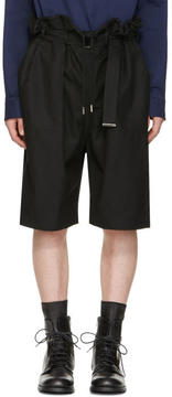 Diesel Black Gold Black Drawstring Shorts