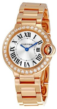 Cartier Ballon Bleu 18kt Rose Gold Ladies Watch