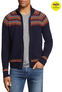 Michael Bastian Fair Isle Zip-Front Cardigan Sweater - GQ60, 100% Exclusive