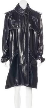 Chanel Lambskin Trench Coat