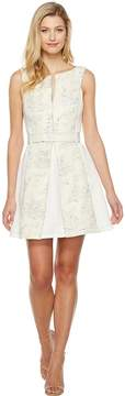 Adelyn Rae Kiley Woven Jacquard Fit and Flare Women's Dress