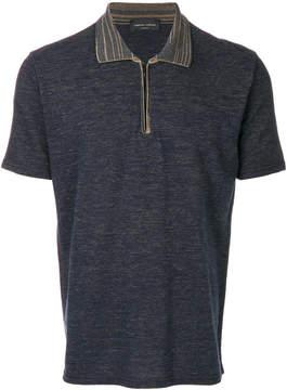 Roberto Collina zipped neck polo shirt