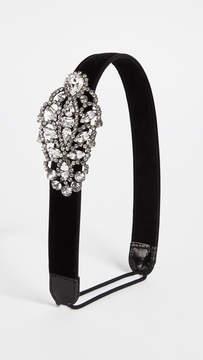 Jennifer Behr Crystal Encrusted Headband