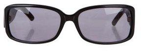 Saint Laurent Tinted Rectangular Sunglasses