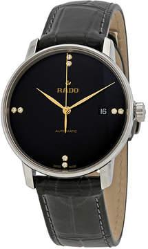 Rado Coupole Classic L Automatic Black Dial Men's Watch